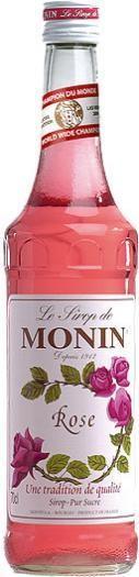 MONIN Premium Rose Sirup 70 cl Frankreich