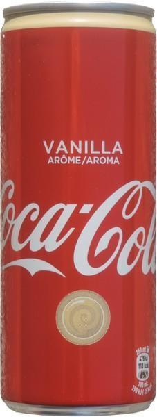 Coca Cola VANILLA 250 ml Frankreich