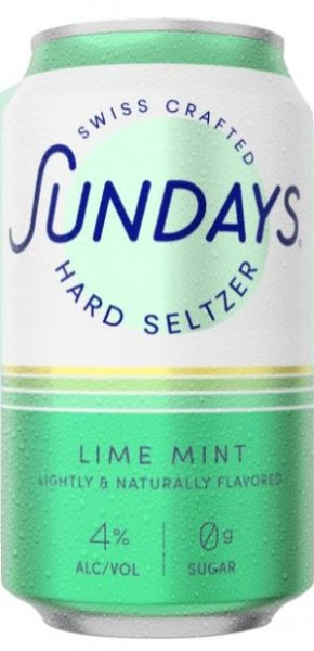 Sundays Hard Seltzer LIME MINT DOSE 330 ml / 4 % Schweiz