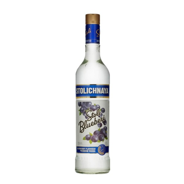 STOLICHNAYA Vodka BLUEBERI 70 cl / 37.5 % Russland
