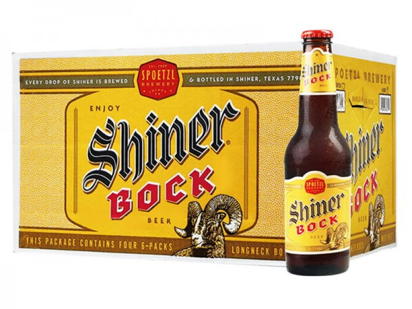 Shiner BOCK Bier Kiste 24 x 355 ml / 4.4 % USA