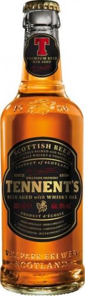 TENNENT'S Whisky Oak Aged Bier 330 ml / 6.6 % Schottland