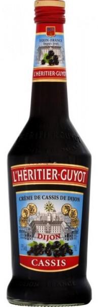 L`Heritier- Guyot Creme de Cassis de Dijon 70 cl / 15 % Frankreich