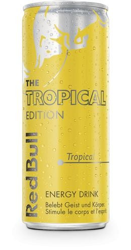 Red Bull Special TROPICAL Energy Drink 250 ml Schweiz
