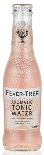 FEVER-TREE AROMATIC Tonic Water PINK 200 ml UK
