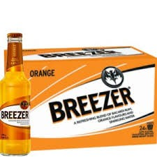 Bacardi BREEZER Orange Kiste 24 x 275 ml / 4 % Deutschland