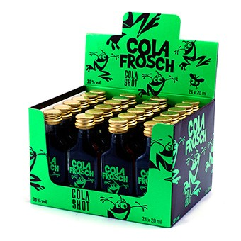 COLA Frosch Shot 2 cl / 30 % Schweiz