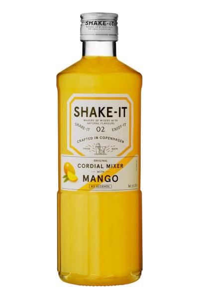 Shake- It 02 MANGO Original Cordial Mixer Alkoholfrei 50 cl Dänemark