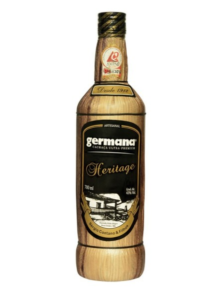 GERMANA Cachaca HERITAGE 10 Years 70 cl / 43 % Brasilien