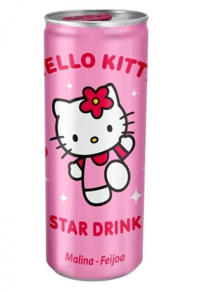 Hello Kitty Star Drink Himbeere DOSE 250 ml Österreich