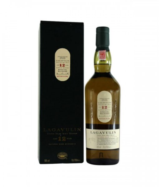 LAGAVULIN 12 Years SPECIAL RELEASE Natural Cask Strenght Bottled in 2002 mit Etui - 70 cl / 58 % Sch