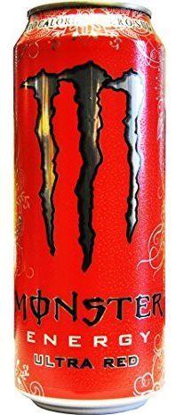 MONSTER Energy ULTRA RED Zero 500 ml UK