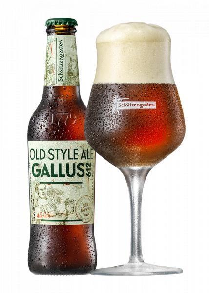 Schützengarten Gallus 612 - Old Style Ale 330 ml / 5.6 % Schweiz