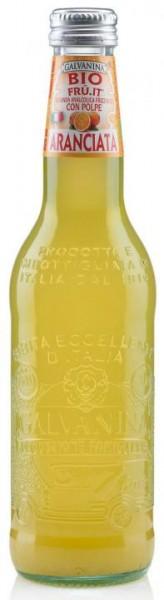 GALVANINA BIO Fru.it ARANCIATA - ORANGEADE 355 ml Italien