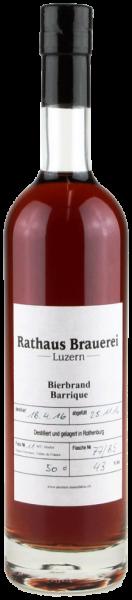 amstutz BIERBRAND BARRIQUE Rathaus Brauerei Luzern 50 cl / 43 % Schweiz