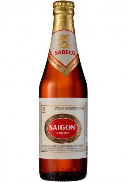 SAIGON export Lager Beer 355 ml / 4.9 % Vietnam