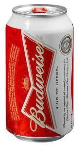 Budweiser Dose 355 ml / 5 % USA