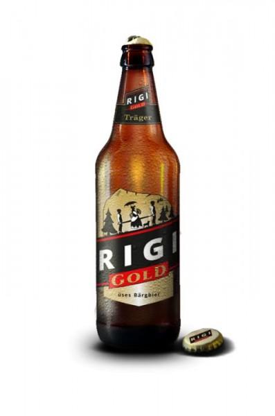RIGI GOLD TRÄGER üses BärgBier 330 ml / 5.1 % Schweiz