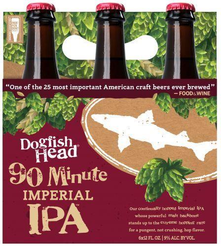 DOGFISH HEAD 90 Minute Imperial IPA Kiste 24 x 355 ml / 9 % USA