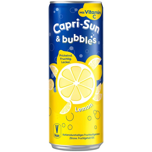 Capri Sun & bubbles LEMON 330 ml Deutschland