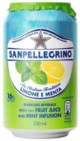 Sanpellegrino LIMONE E MENTA 330 ml Italien