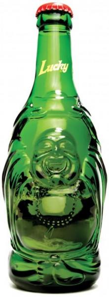 Lucky BUDDHA Bier Reliefflasche 330 ml / 4.8 % China