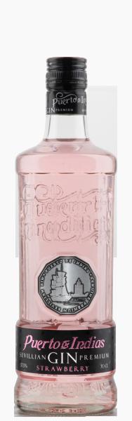 Puerto de Indias STRAWBERRY Gin 70 cl / 37.5 % Spanien