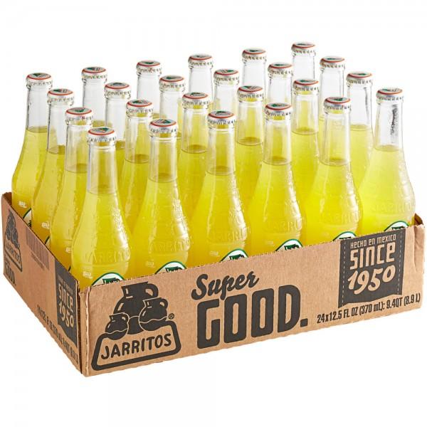 JARRITOS Pineapple natural flavor soda Kiste 24 x 370 ml Mexiko