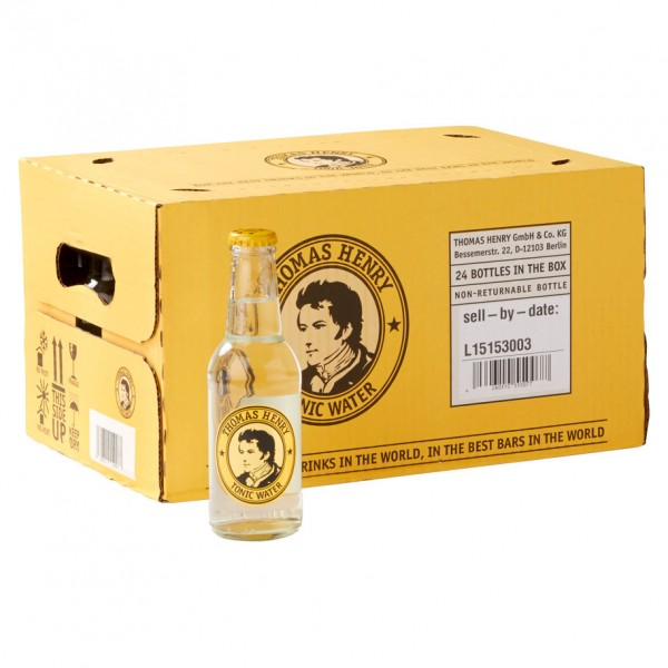 Thomas Henry Tonic Water Kiste 24 x 20 cl Deutschland