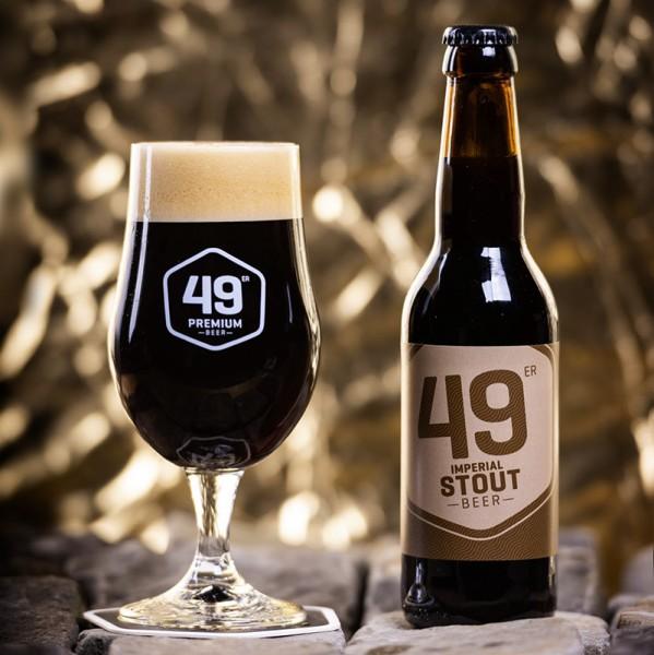 49 er Premium Bier IMPERIAL STOUT Kiste 20 x 330 ml / 7.2 % Schweiz