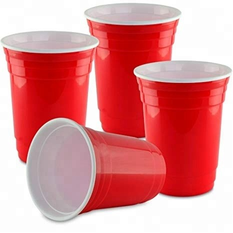 Solo RED Cups 12 oz - Beer Pong Becher Stange a 50 Stk. x 12 oz / 355 ml USA